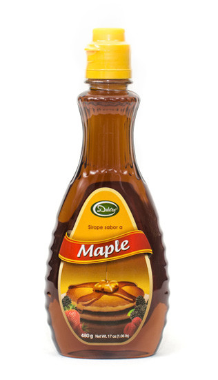 sirope sabor a maple