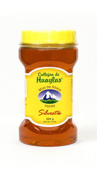 miel floracion silvestre callejon de huaylas