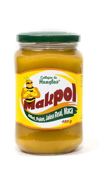 makpol miel de abeja polen jalea real maca