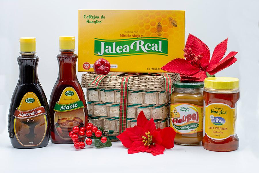 premio-1-miel-de-abeja-algarrobina-maple-canasta-sorteo-navidad